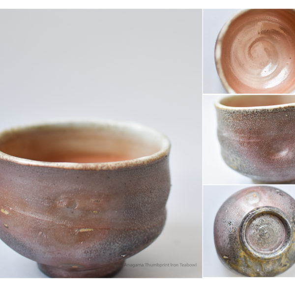 Thumbprint Iron Tea Bowl